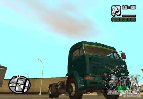 Kamaz 5460 pour GTA San Andreas vue de droite