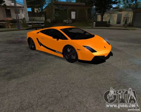 Lamborghini Gallardo LP570 Superleggera für GTA San Andreas linke Ansicht