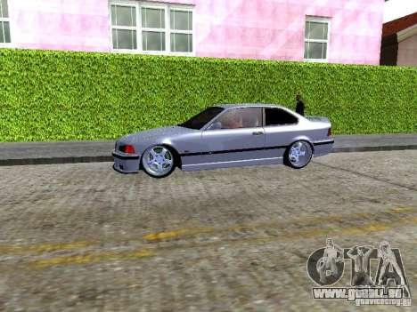 BMW M3 E36 Light Tuning pour GTA San Andreas vue arrière