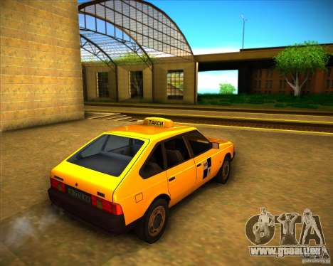 Taxi AZLK 2141 pour GTA San Andreas vue de droite