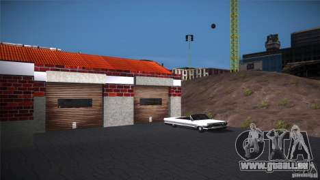 San Fierro Upgrade pour GTA San Andreas deuxième écran