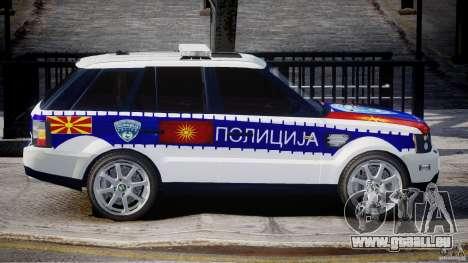 Range Rover Macedonian Police [ELS] für GTA 4 Seitenansicht