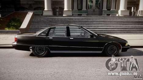 Chevrolet Caprice FBI v.1.0 [ELS] für GTA 4 linke Ansicht