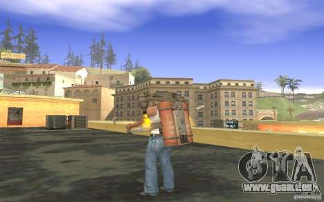 Jetpack im Stil der UdSSR für GTA San Andreas siebten Screenshot