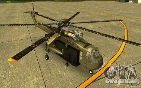 Sikorsky CH-54 Tarhe für GTA San Andreas