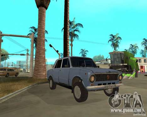 Kopeika (korrigiert) für GTA San Andreas Rückansicht