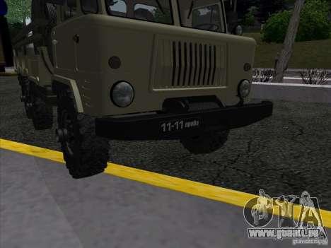 GAS 34 für GTA San Andreas Rückansicht