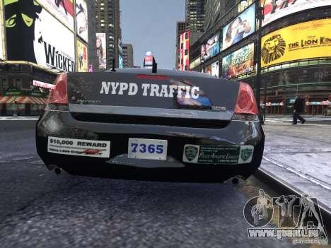 Chevrolet Impala 2006 NYPD Traffic pour GTA 4 est un droit