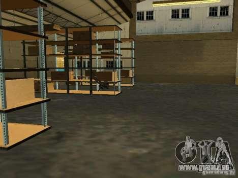 Renouvellement de la base militaire sur les quai pour GTA San Andreas huitième écran