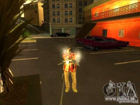 Ricardo Diaz pour GTA San Andreas troisième écran