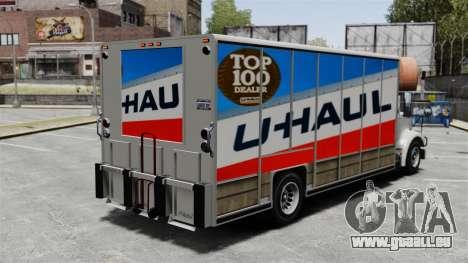 U-Haul camionnage pour GTA 4 secondes d'écran