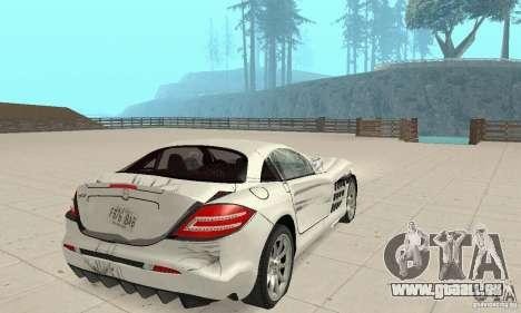Mercedes-Benz McLaren V2.3 pour GTA San Andreas roue