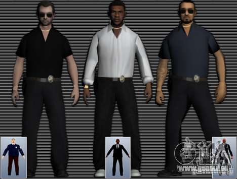 New FBI Agents pour GTA San Andreas