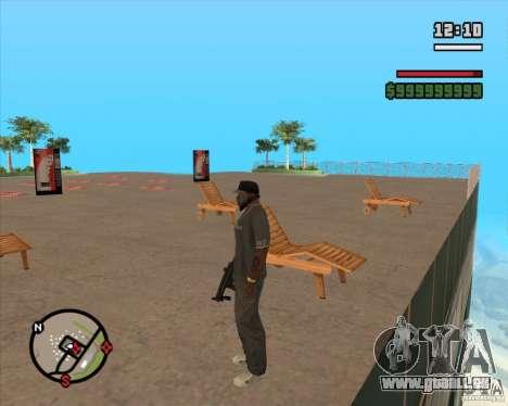 CJ-maire pour GTA San Andreas cinquième écran
