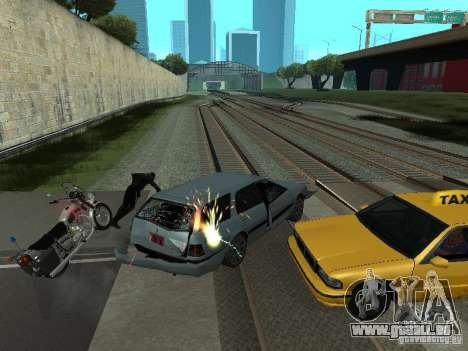Die realistische Blast-Maschinen für GTA San Andreas zweiten Screenshot