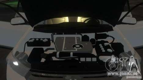 Toyota Highlander 2012 v2.0 pour GTA 4 vue de dessus