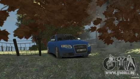 Audi S4 Avant pour GTA 4 est un côté