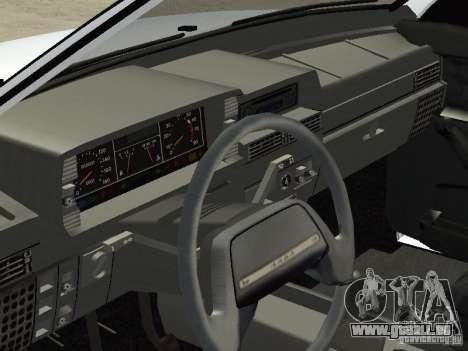 VAZ 21099 Drain für GTA San Andreas rechten Ansicht