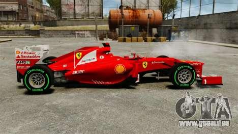 Ferrari F2012 pour GTA 4 est une gauche