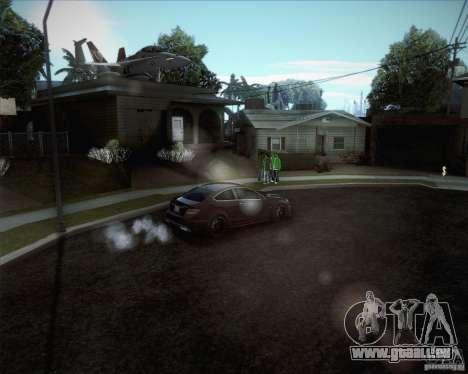 Nouvelles routes autour de San Andreas pour GTA San Andreas quatrième écran