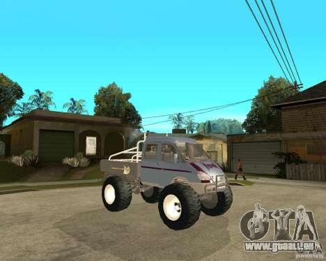 GAS KeržaK (Swamp Buggy) für GTA San Andreas rechten Ansicht