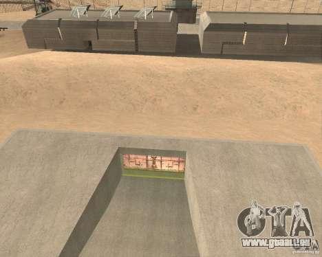 Porte pneumatique dans la zone 69 pour GTA San Andreas deuxième écran