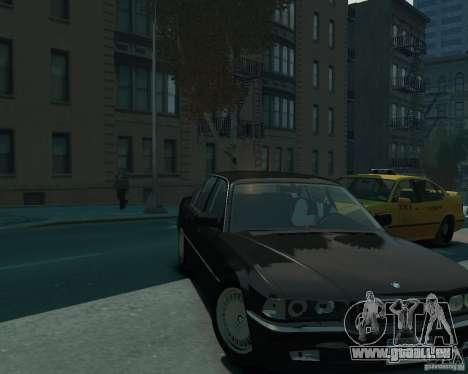 BMW 750i E38 1998 pour GTA 4 est un droit