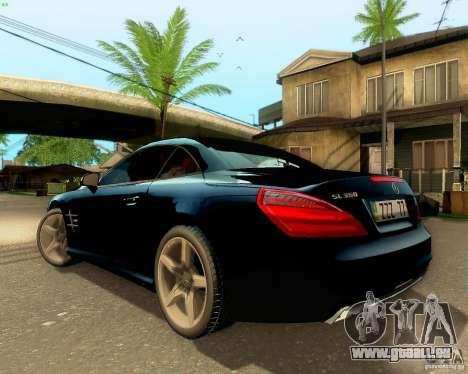 Mercedes-Benz SL350 2013 für GTA San Andreas Unteransicht
