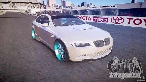 BMW E92 pour GTA 4 est une vue de l'intérieur