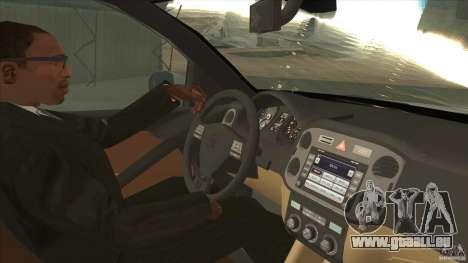 Volkswagen Tiguan 2012 v2.0 pour GTA San Andreas vue intérieure