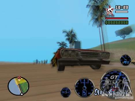 Speedometer GT für GTA San Andreas