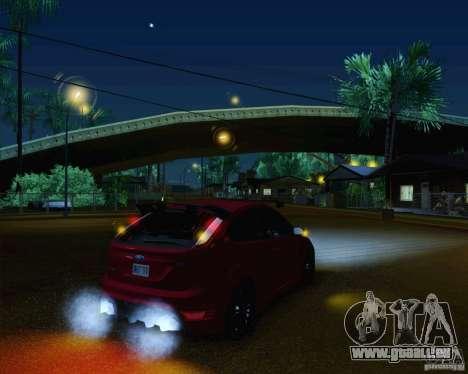 Ford Focus RS für GTA San Andreas Innen