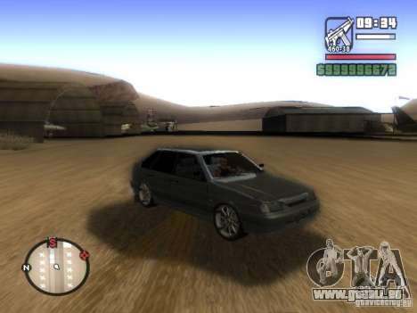 ВАЗ 2114 Tuning pour GTA San Andreas