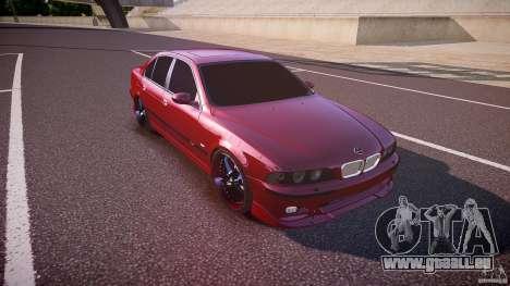 BMW M5 E39 Hamann [Beta] pour GTA 4 est une vue de l'intérieur