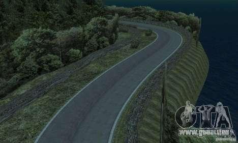 L'itinéraire du rallye pour GTA San Andreas sixième écran