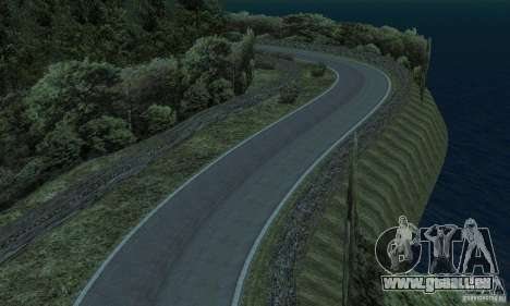 Die Rallye-route für GTA San Andreas sechsten Screenshot