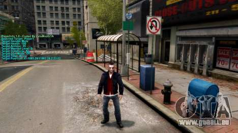 Informationen über den player für GTA 4 dritte Screenshot