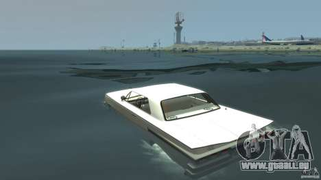 Voodoo Boat pour GTA 4 Vue arrière de la gauche
