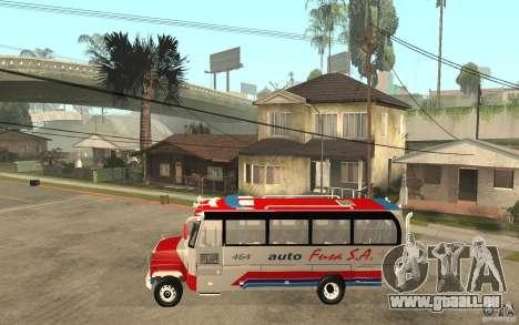 Kodiak B70 - Autofusa Colombia pour GTA San Andreas laissé vue