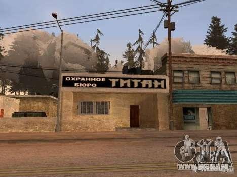 Le Village de Ivanovka pour GTA San Andreas onzième écran