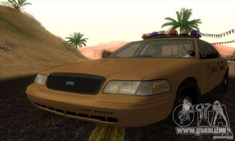 Ford Crown Victoria Kansas Police pour GTA San Andreas