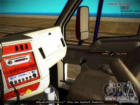 Kenworth T2000 v 2.5 pour GTA San Andreas moteur