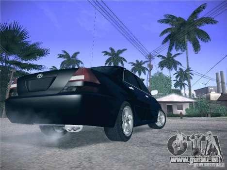 Toyota Mark II Grande für GTA San Andreas Rückansicht