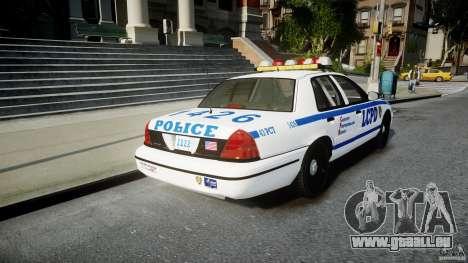 Ford Crown Victoria CVPI-V2.5V für GTA 4 hinten links Ansicht