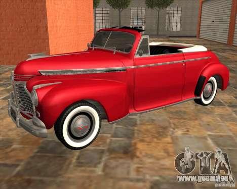 Chevrolet Special DeLuxe 1941 pour GTA San Andreas