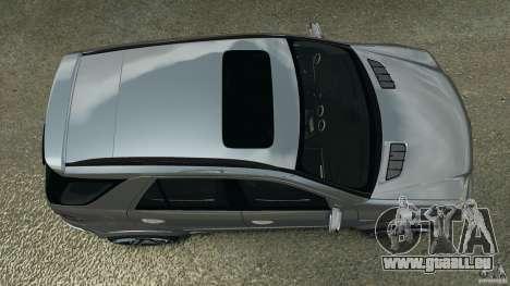 Mercedes-Benz ML63 AMG Brabus pour GTA 4 est un droit