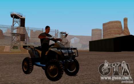 Quadbike from BF 3 pour GTA San Andreas