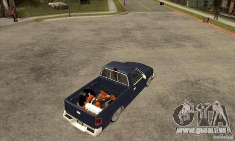 Chevrolet S-10 1996 Draggin pour GTA San Andreas vue de droite