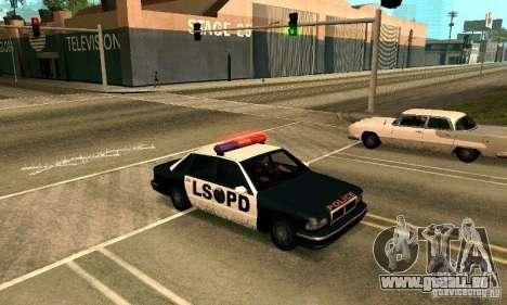 Les crampons sur la route pour GTA San Andreas deuxième écran