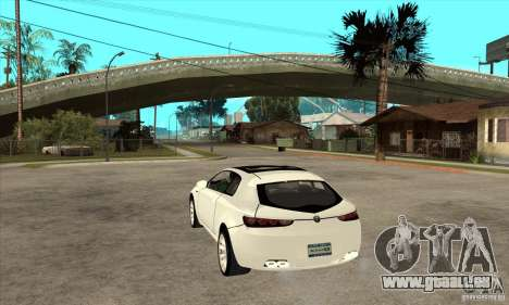 Alfa Romeo Brera pour GTA San Andreas sur la vue arrière gauche